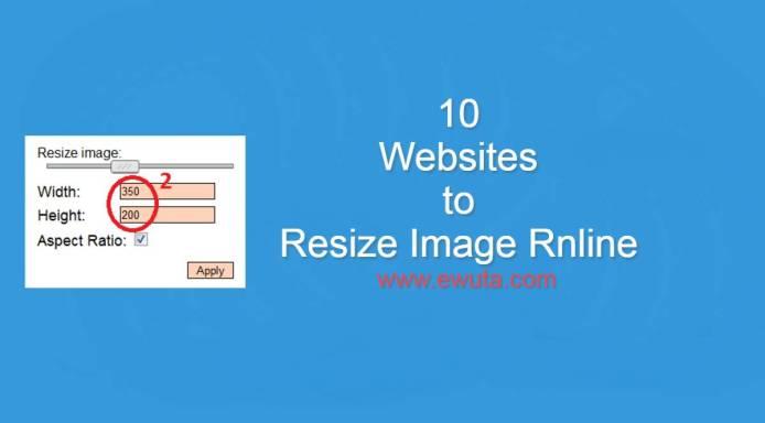 resize image online