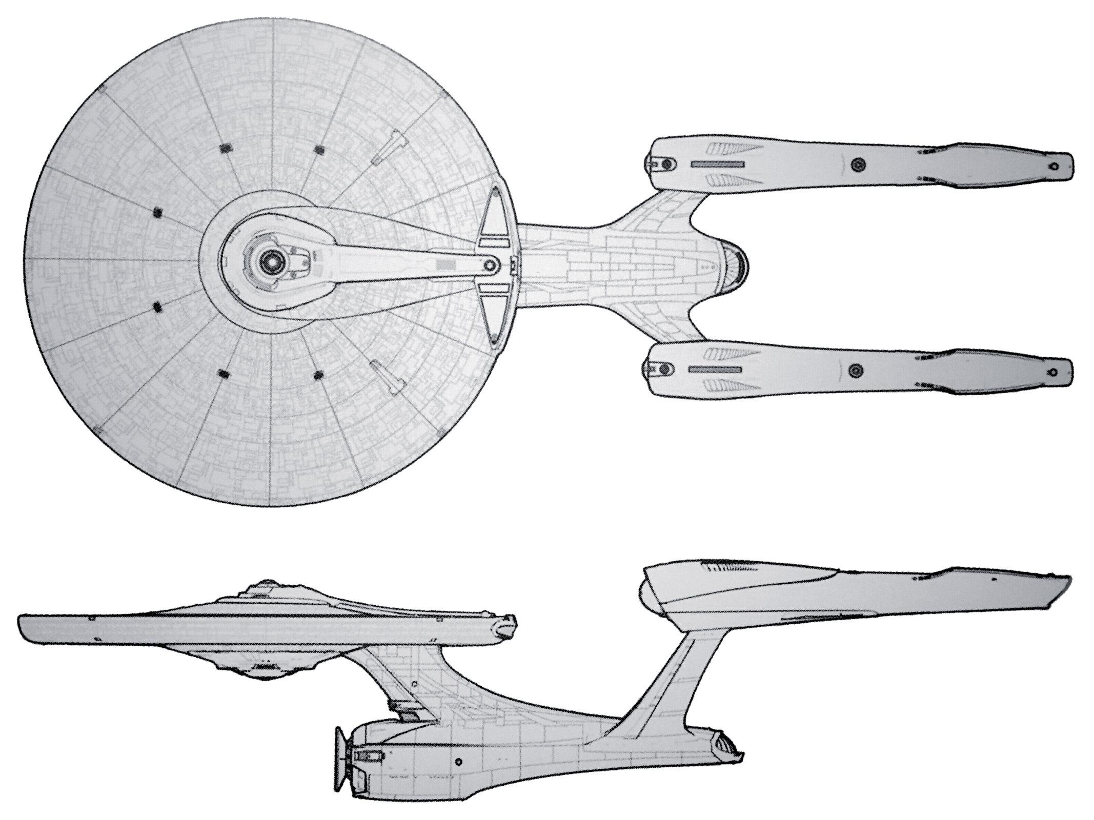 uss enterprise diagram river meander ex astris scientia starship gallery abramsverse federation vessels stb redesign sketch the art of star trek kelvin timeline