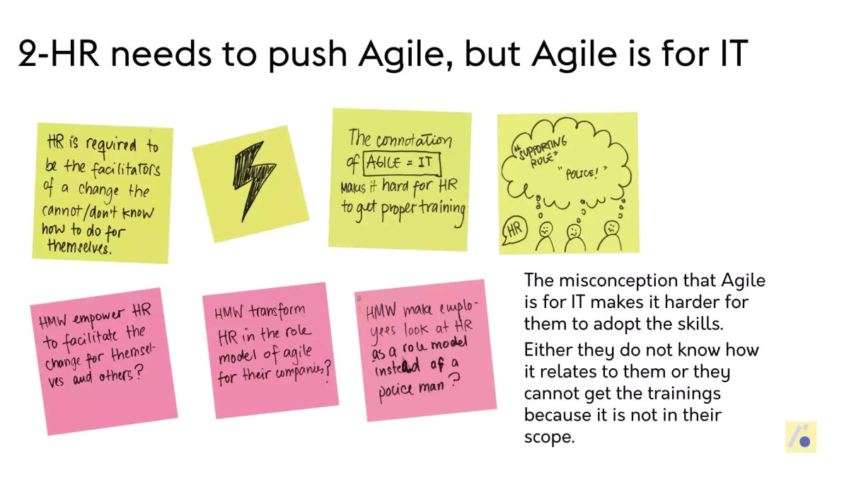 , The biggest challenges for HR to transform their Organisations into Agile Organisms