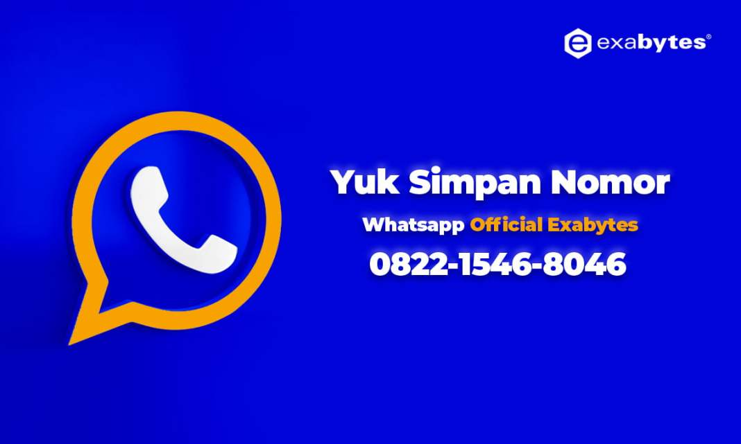 Whatsapp Official Exabytes Indonesia