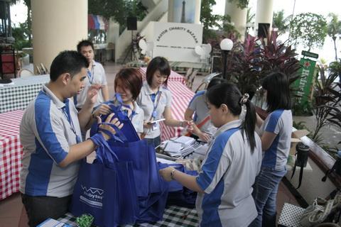 Exabytes Easter Charity Bazaar