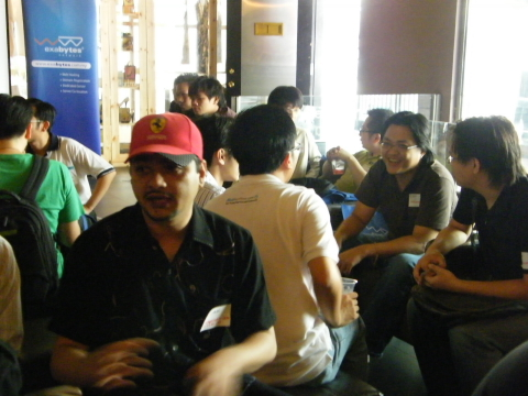 3rd WebmasterMalaysia Gathering networking session