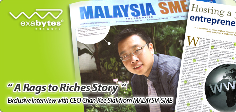 A Rags to Riches Story from Chan Kee Siak