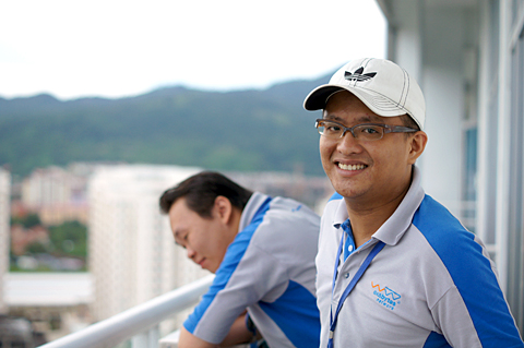 TS Ooi - A cheerful person who never forgets to incorporate fun into his daily tasks