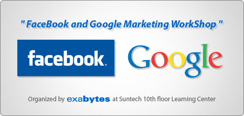 Facebook and Google marketing workshop