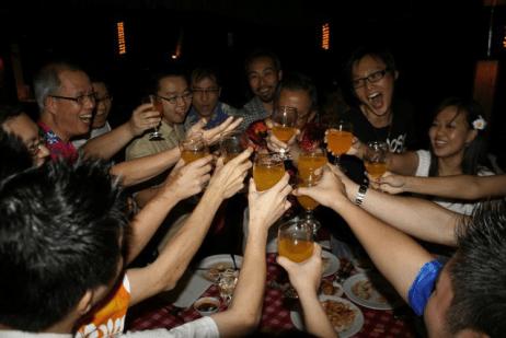 Exabytes Annual Dinner 2011