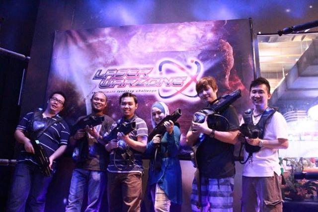Exabytes KL Team Building @ Laser Warzone, IOI Mall 2