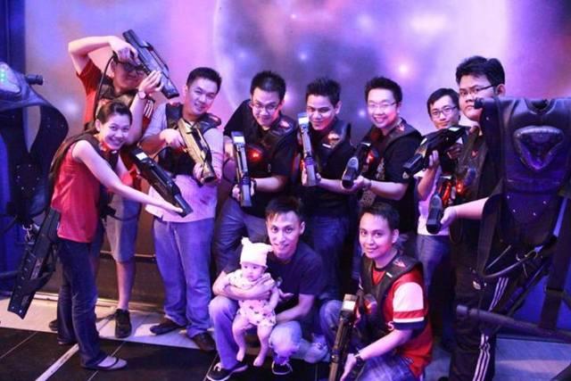 Exabytes KL Team Building @ Laser Warzone, IOI Mall 3