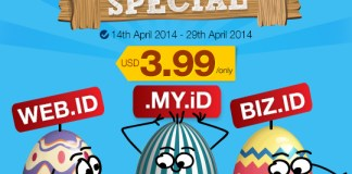 Good Friday & Easter Day ID Domain Promotion