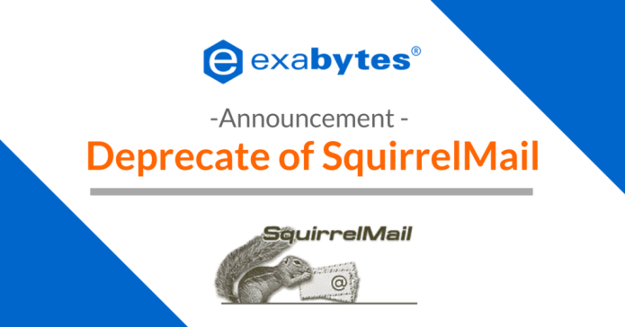 SquirrelMail has come to an end – April 2018