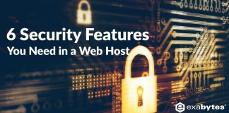 6 security features You Need in a Web Host