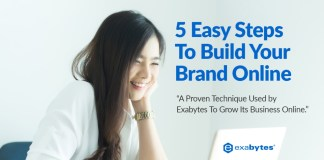 5 Easy Steps To Grow Your Brand Online