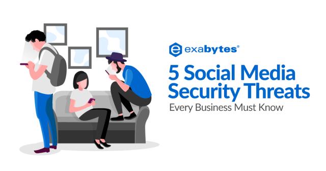 5 social media security threats
