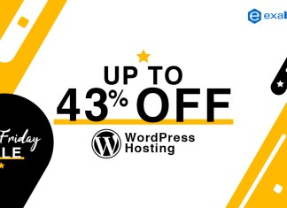 black friday sale - WordPress hosting up to 43% Off