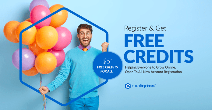 Exabytes $5 Free Credits