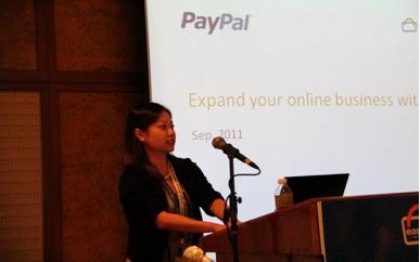 Ms Sherlyn Chong from Paypal