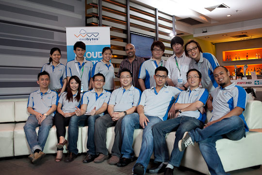 """Exabytes """"Hitting The Cloud"""" Launch event photo"""