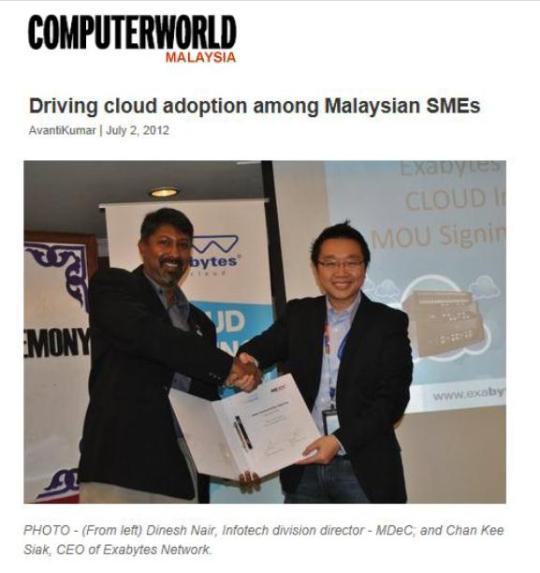 Driving Cloud Adoption Among Malaysian SMEs