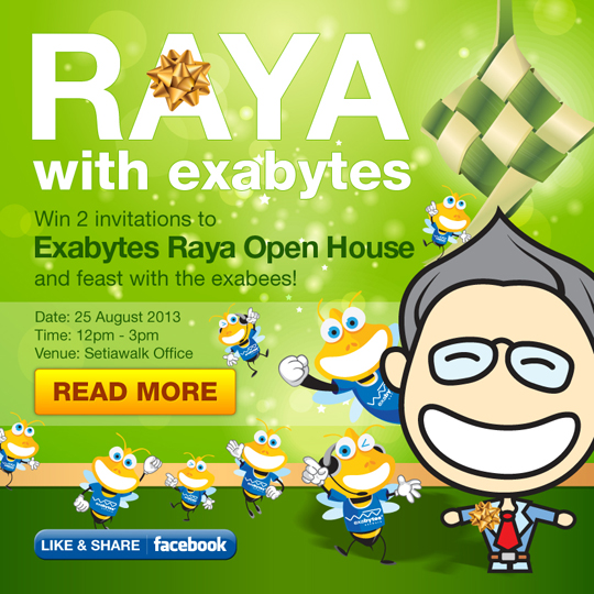 Exabytes Raya open house