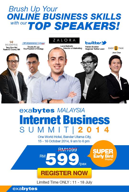 exabytes internet business summit 2014