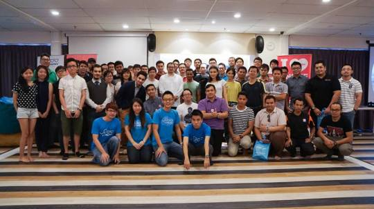 EDC (Exabytes Designer Club) 2nd Gathering at SetiaWalk group photo