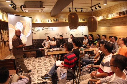8th edc gathering at Starbucks Burma Road, Penang