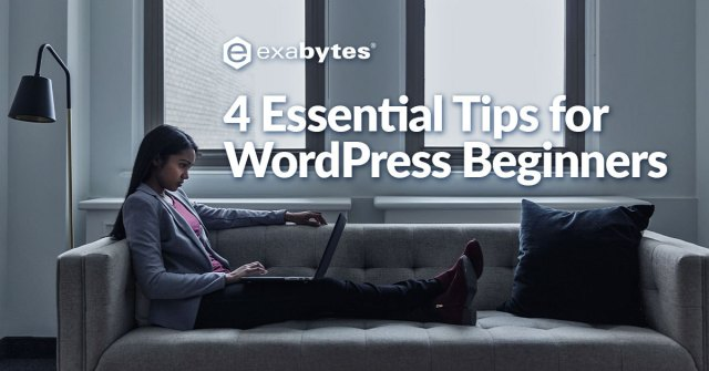4 essential tips for WordPress beginners