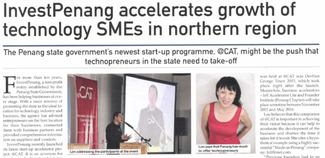 InvestPenang accelerates growth of technology SMEs in northern region