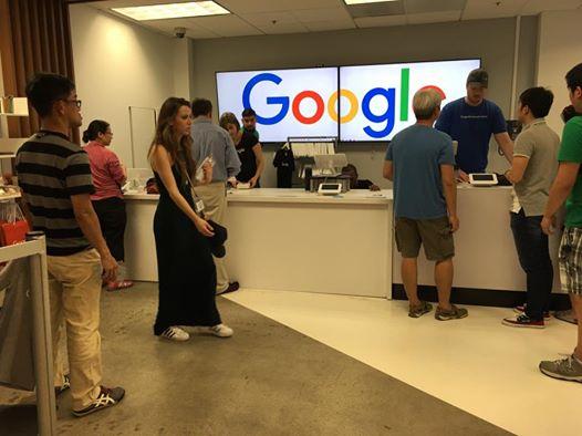 Google Headquarters, GooglePlex in Moutain View, California