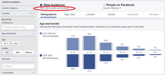 Facebook Audience Insights