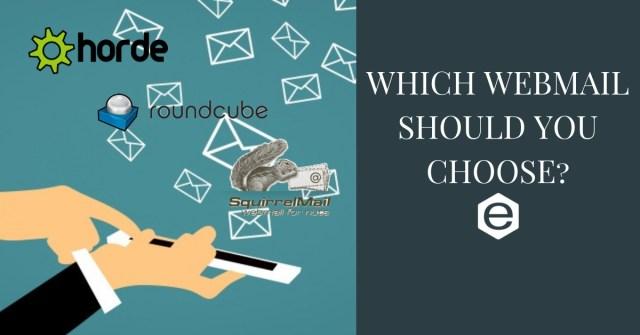 Webmail to choose