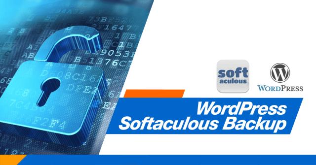 WordPress Softaculous Backup