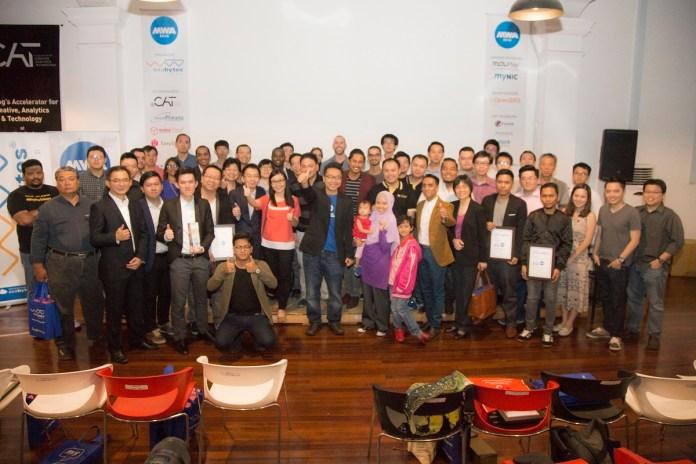 Malaysia Website Awards 2016 group photo