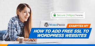 Free SSL for wordpress