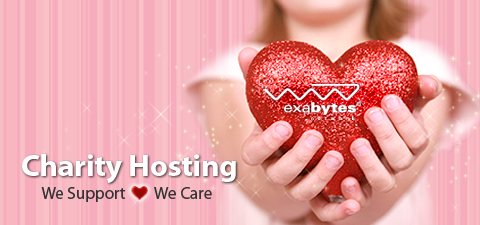 Exabytes Charity hosting