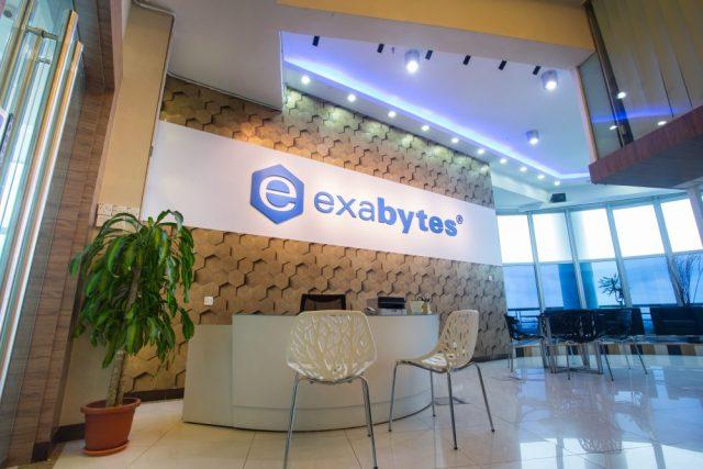 Exabytes Penang headquarter front desk and lobby