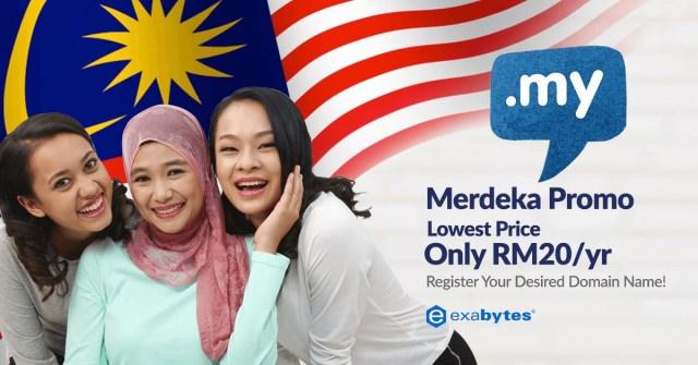 my domain RM20 merdeka promo