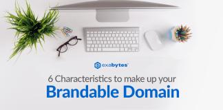 Exabytes Make Up Brandable Domain Tip