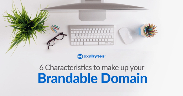 Exabytes Make Up Brandable Domain Tip