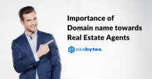 Importance of domain name towards Real Estate Agents