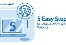5 Easy Steps to Setup a WordPress Website