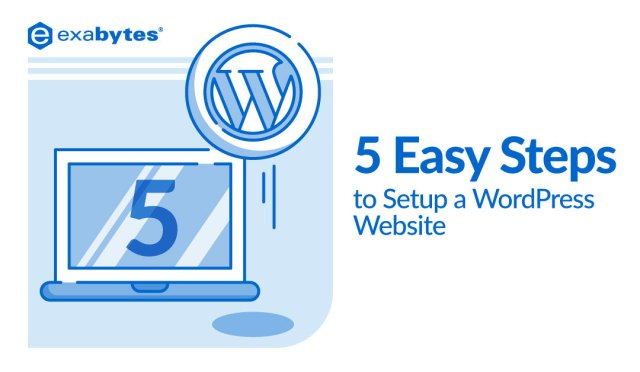 5 Easy Steps to Setup a WordPress Website
