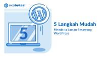 Membina Laman Sesawang WordPress