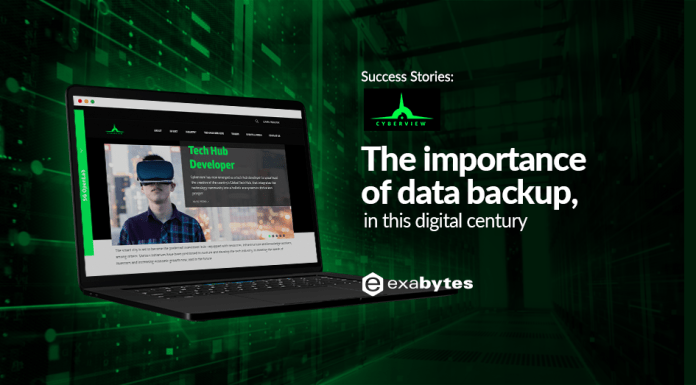 cyberview exabytes data backup solution