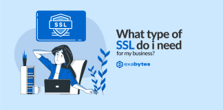 what type of SSL do i need for my business