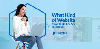 what kind of websites can i build for my business