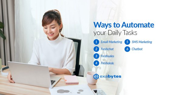 Ways to automate your daily tasks