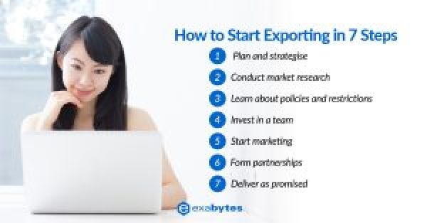 How to start exporting in 7 steps