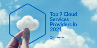 top 9 cloud service providers in 2021