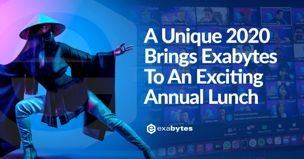 A Unique 2020 Brings Exabytes To An Exciting Annual Lunch
